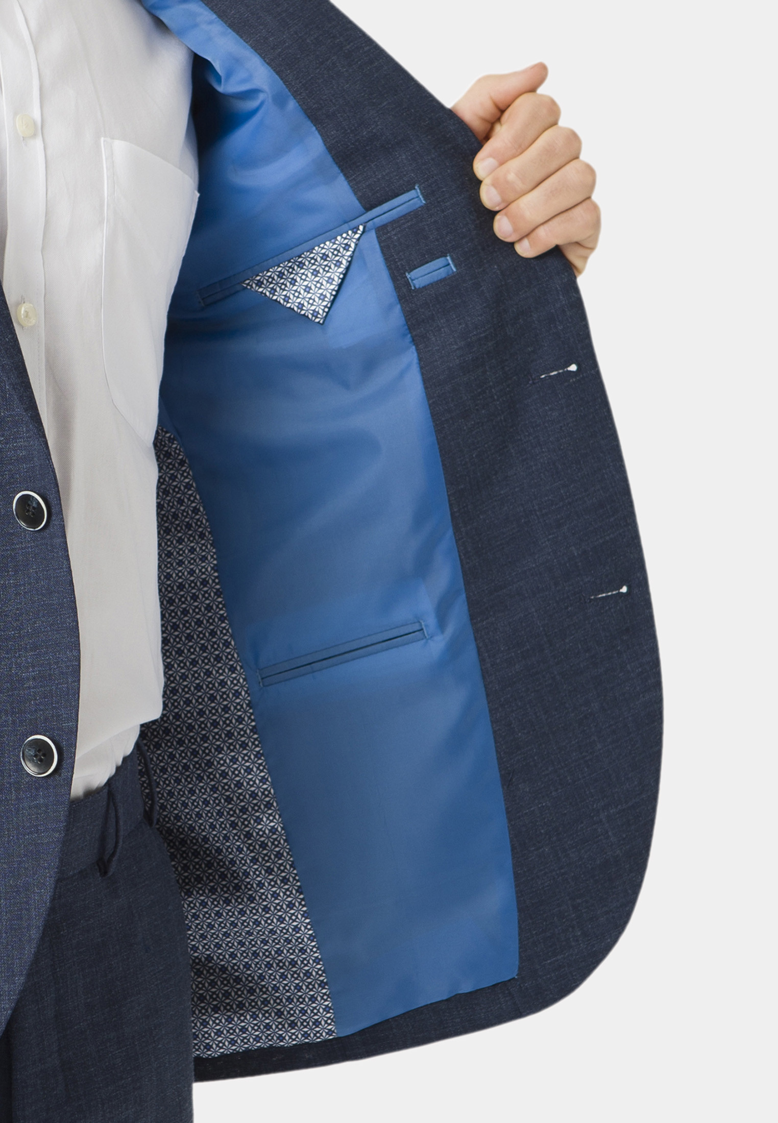 Constable Navy Tailored Fit Suit