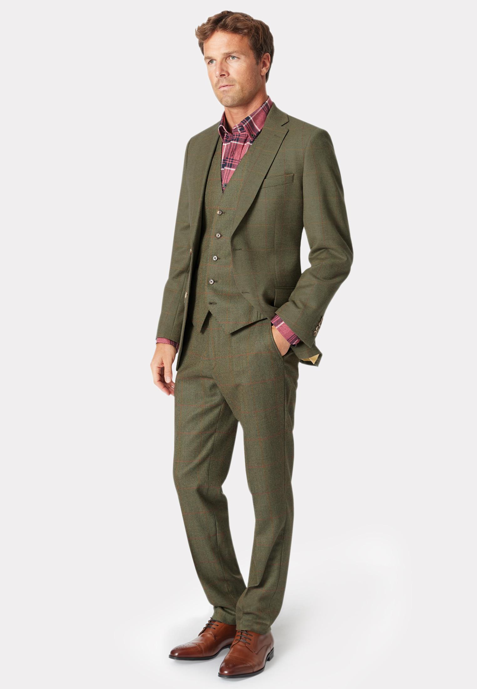 Dalton Tweed Three Piece Suit - Waistcoat Optional