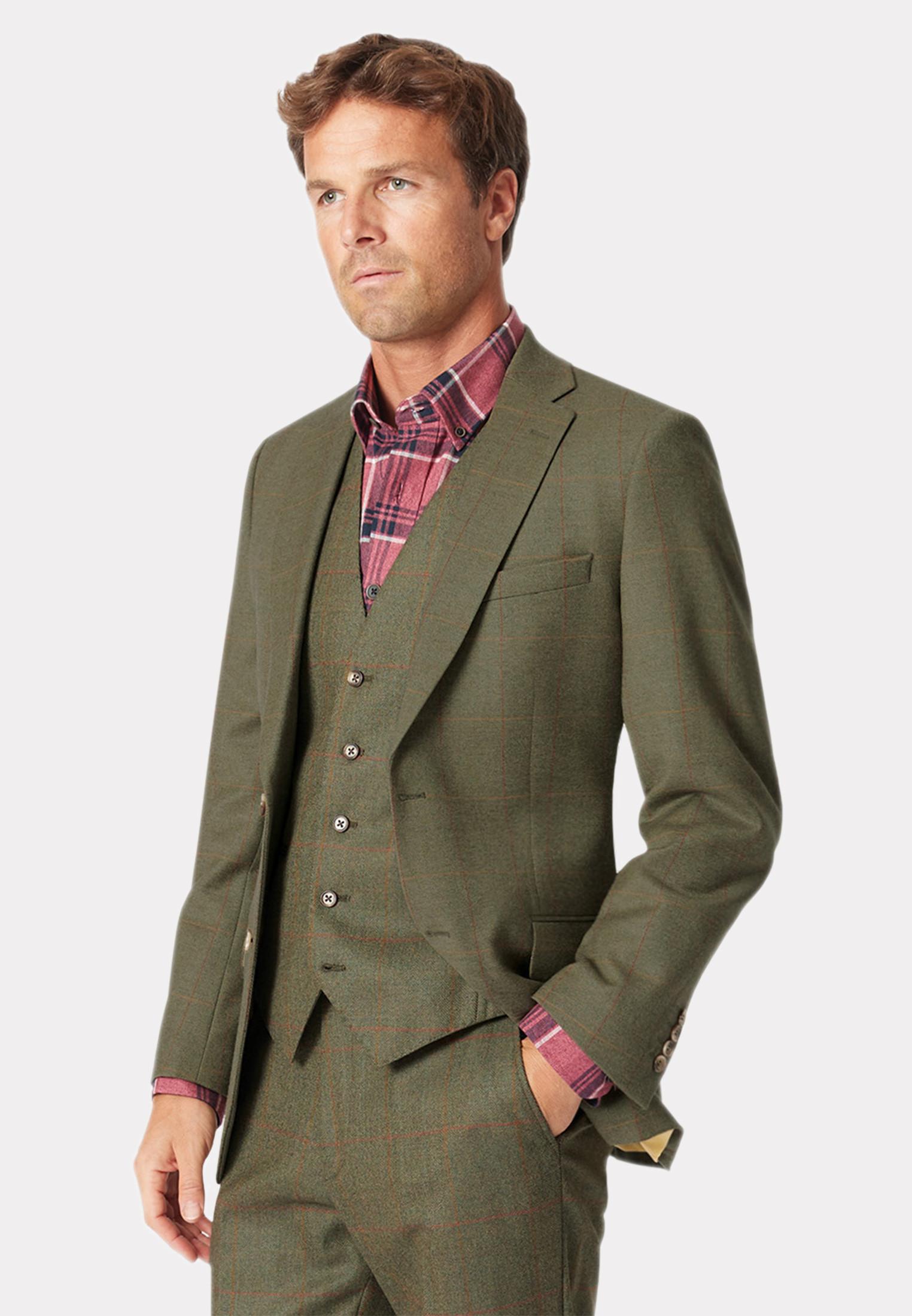 Dalton Tweed Three Piece Suit Jacket