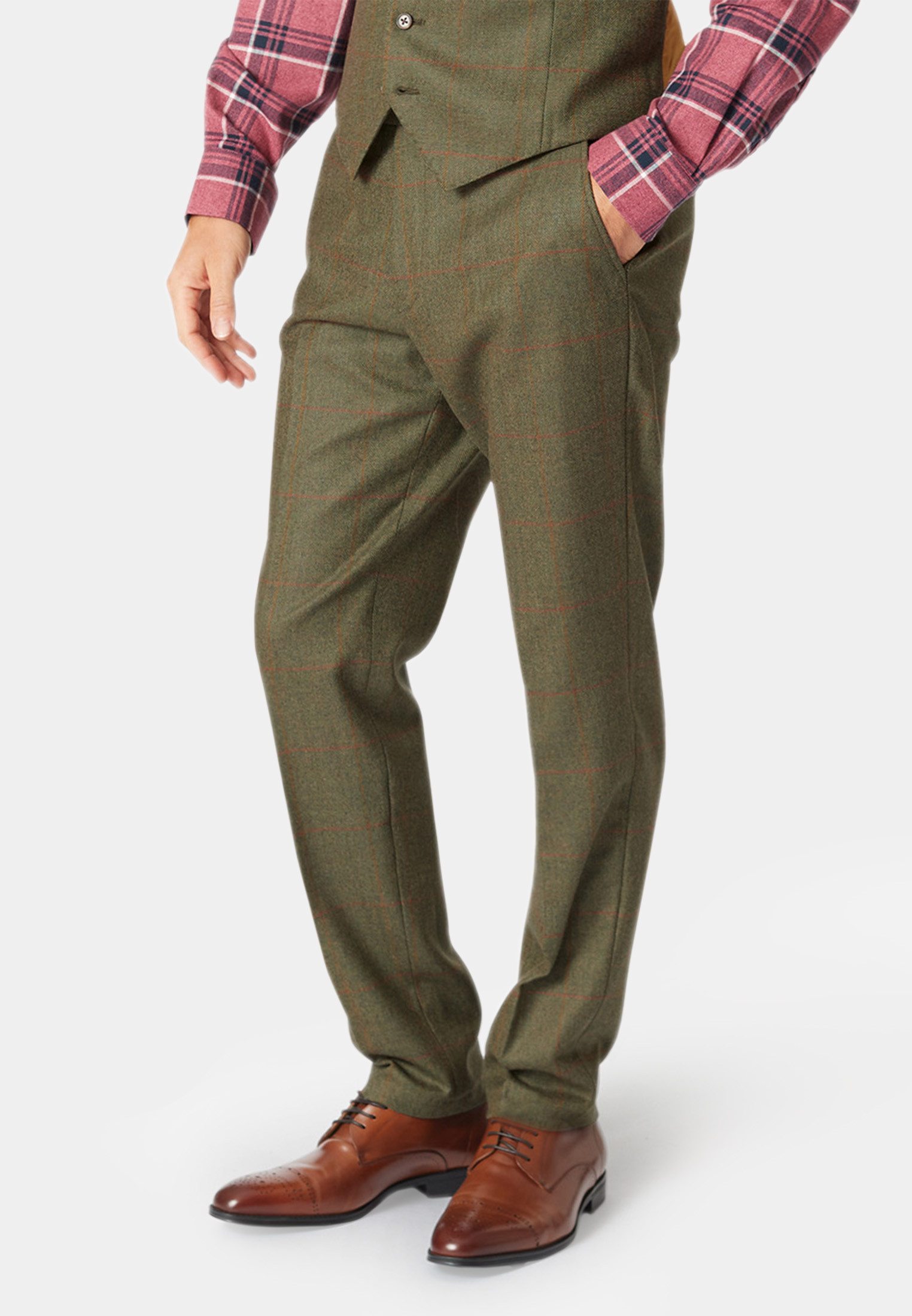 Dalton Tweed Three Piece Suit Trouser