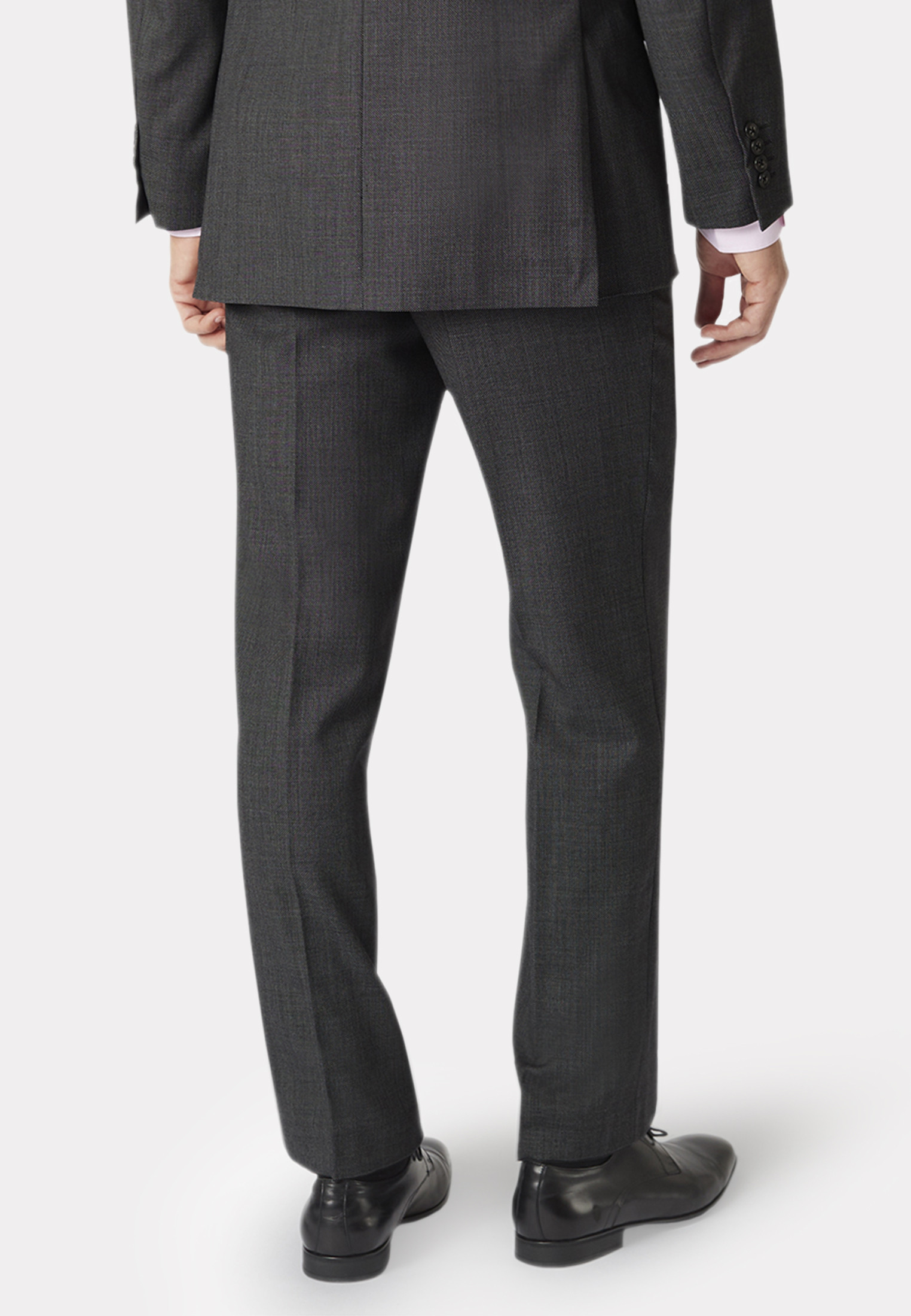 Dawlish Charcoal Birdseye Super 110's Suit