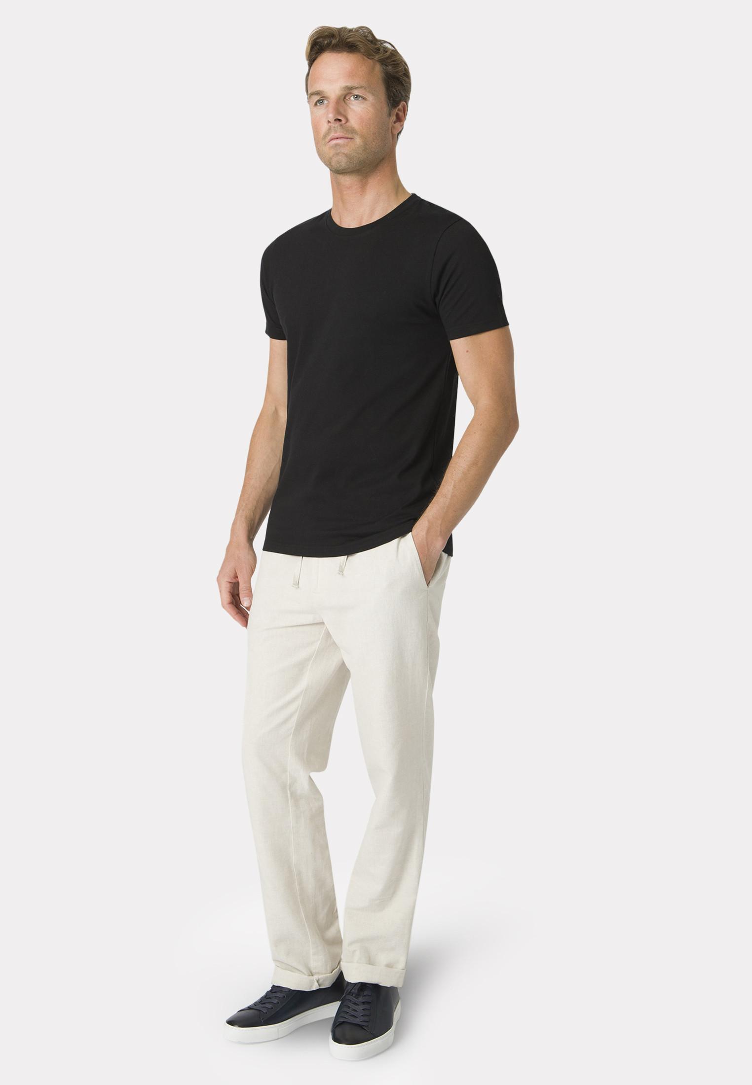 Dean Black Cotton T-Shirt