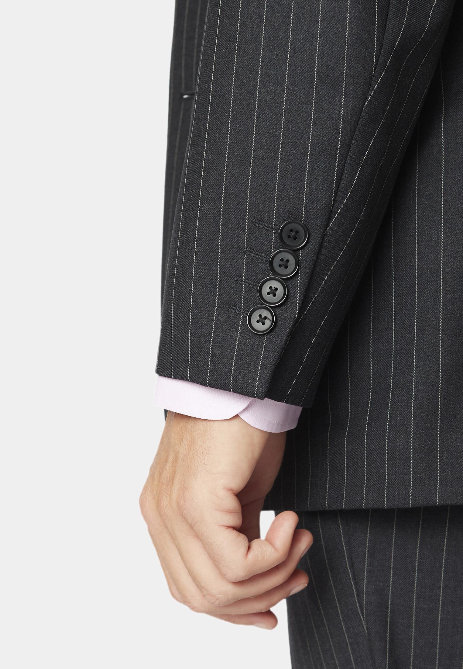 Epsom Grey Pinstripe Super 110's Suit