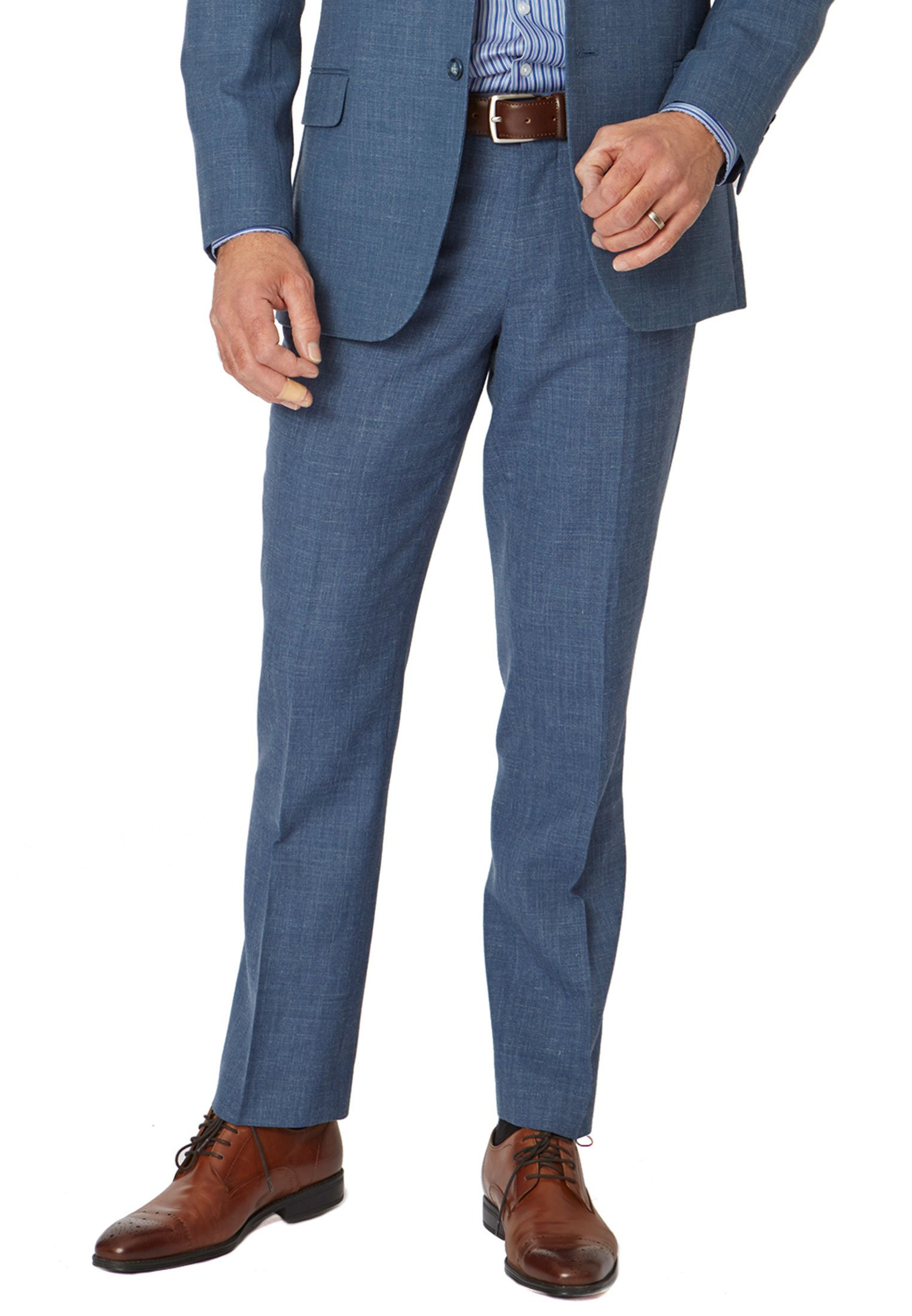 Ocean Blue Esher Suit Trousers
