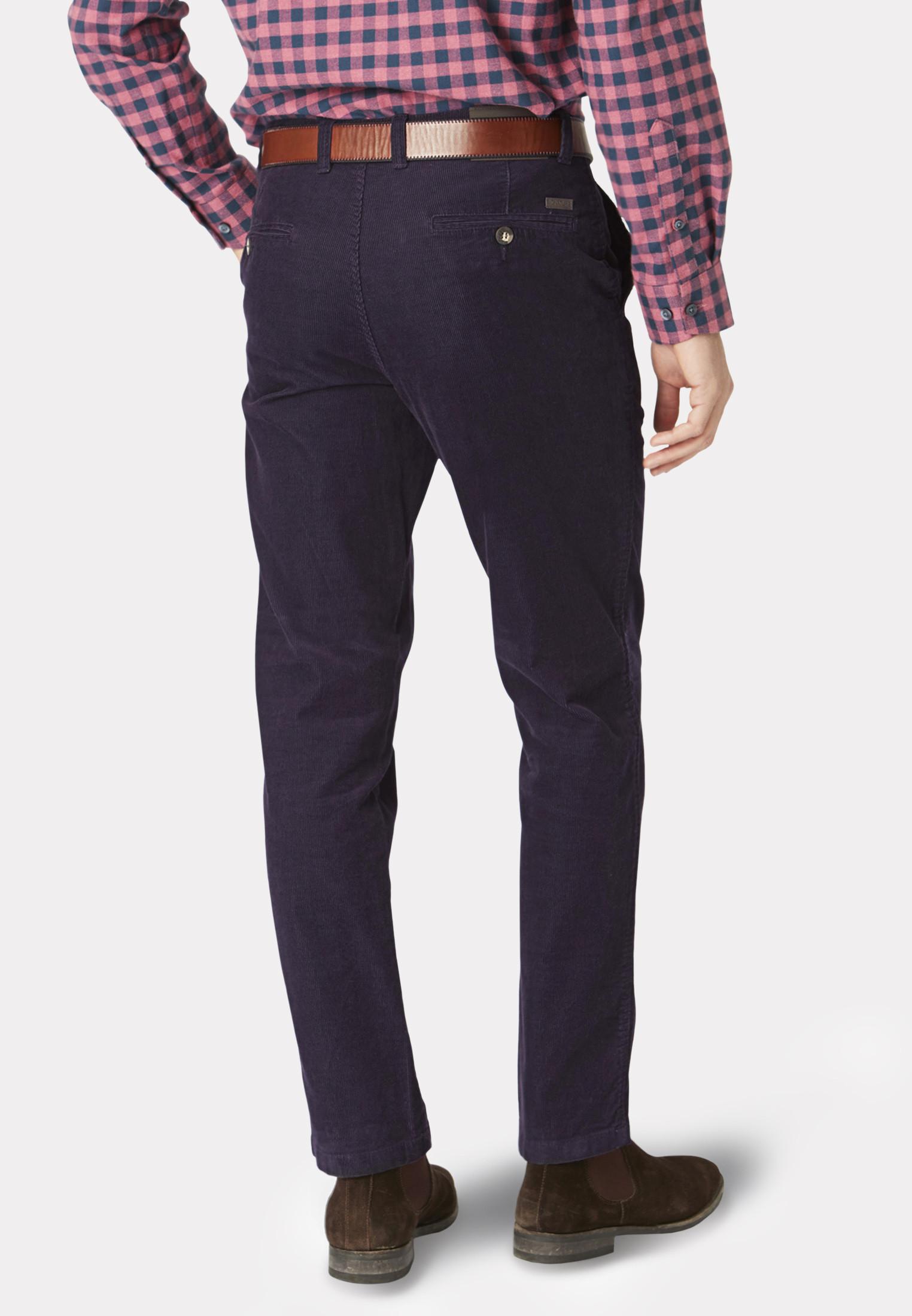 Grape Finningley Cord Trousers