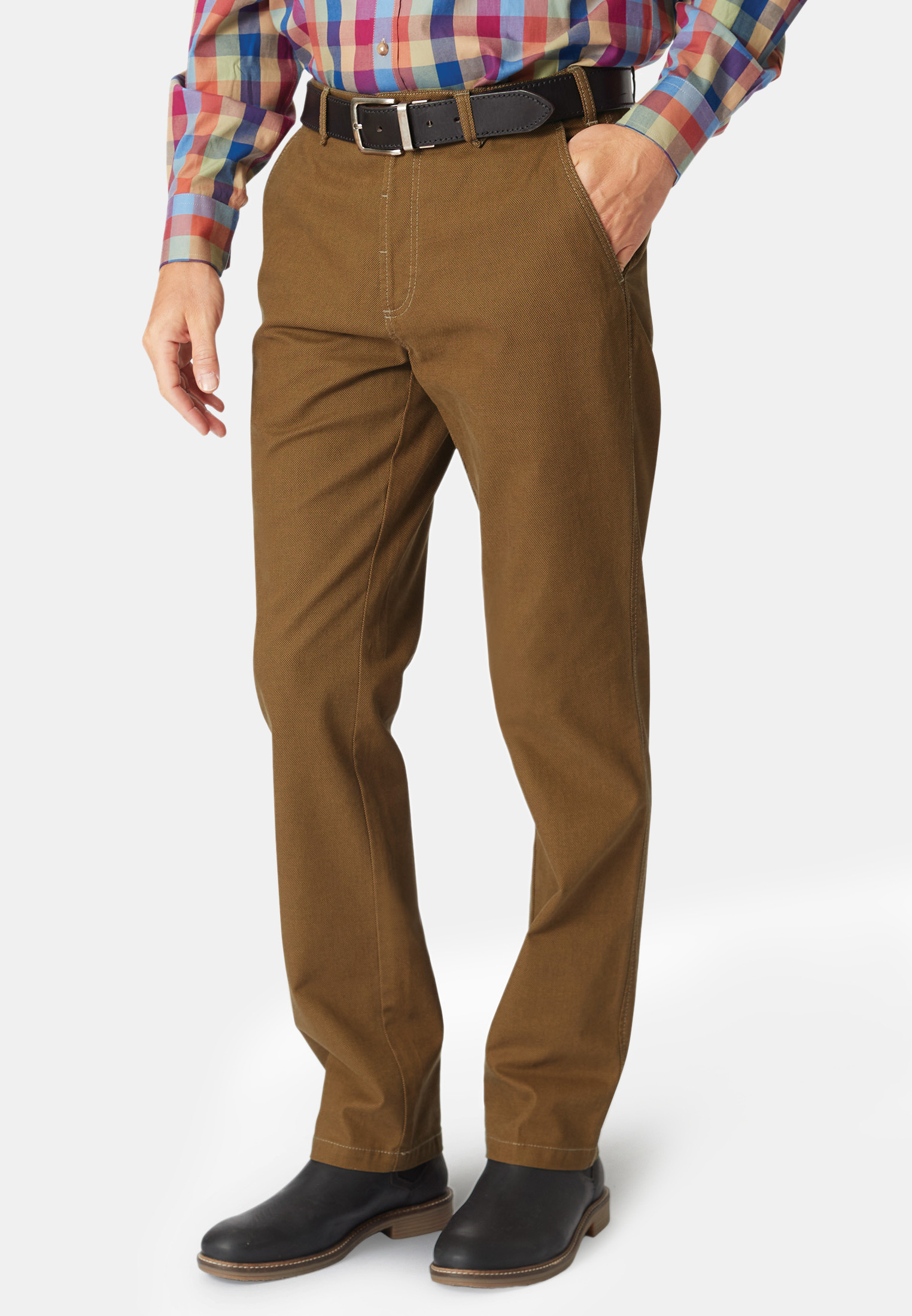 Havers Amber Micro Dot Casual Trouser