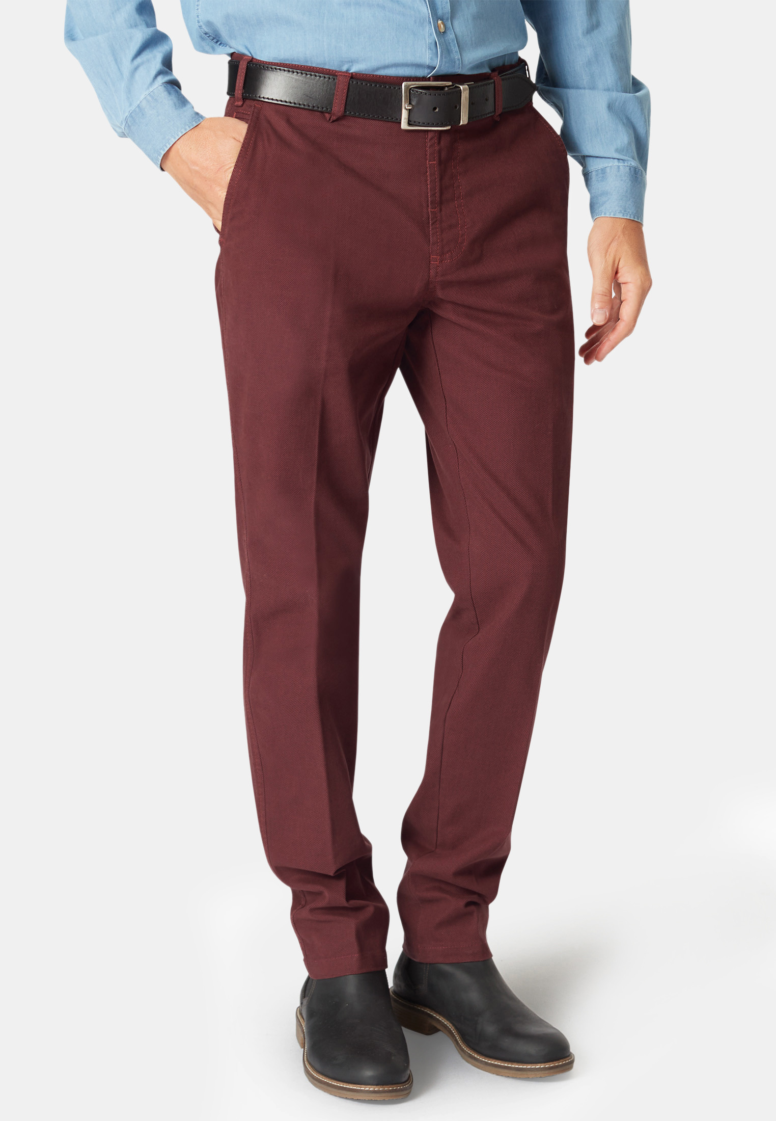 Havers Ruby Micro Dot Casual Trouser