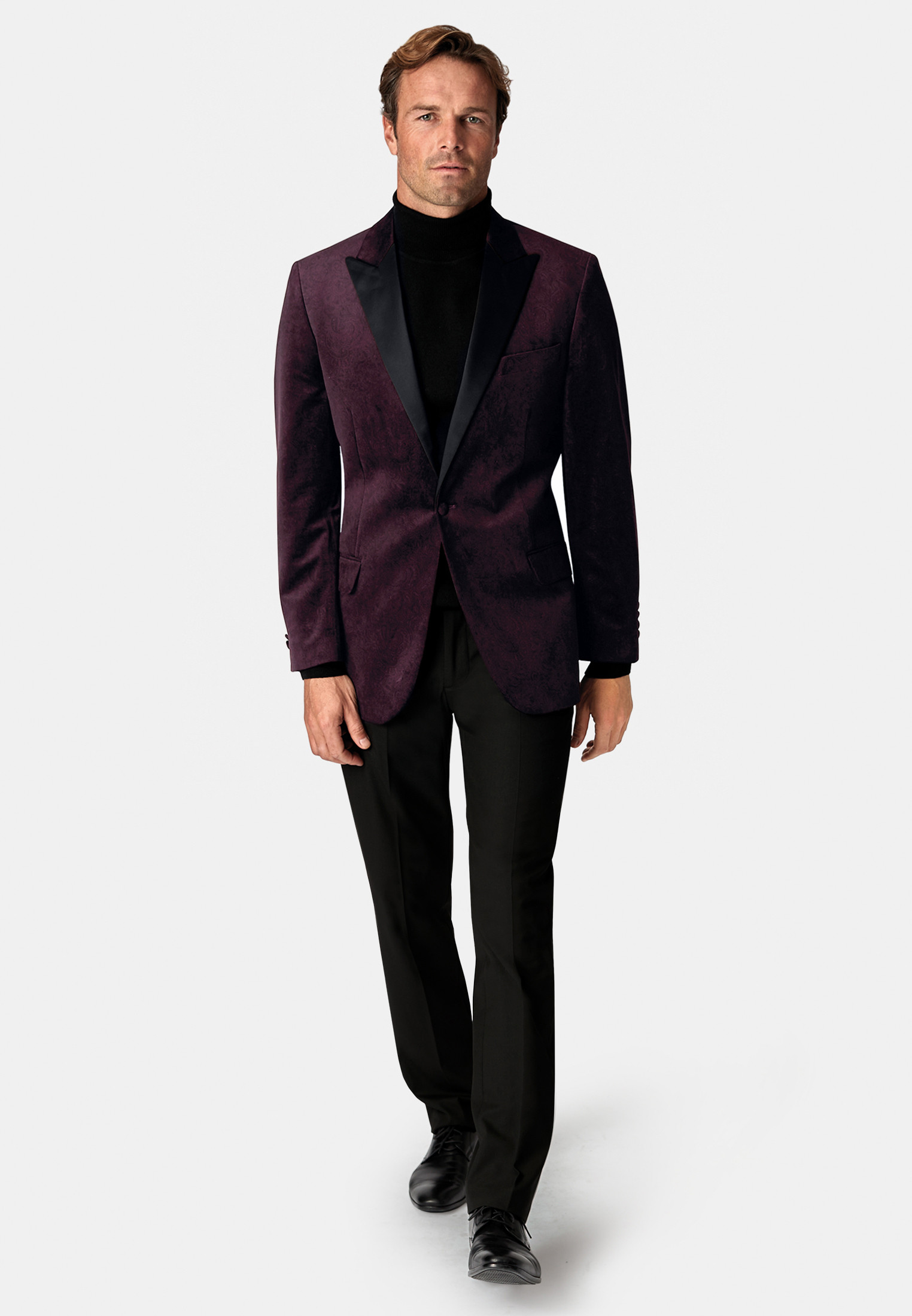 Horne Muted Paisley Dinner Suit