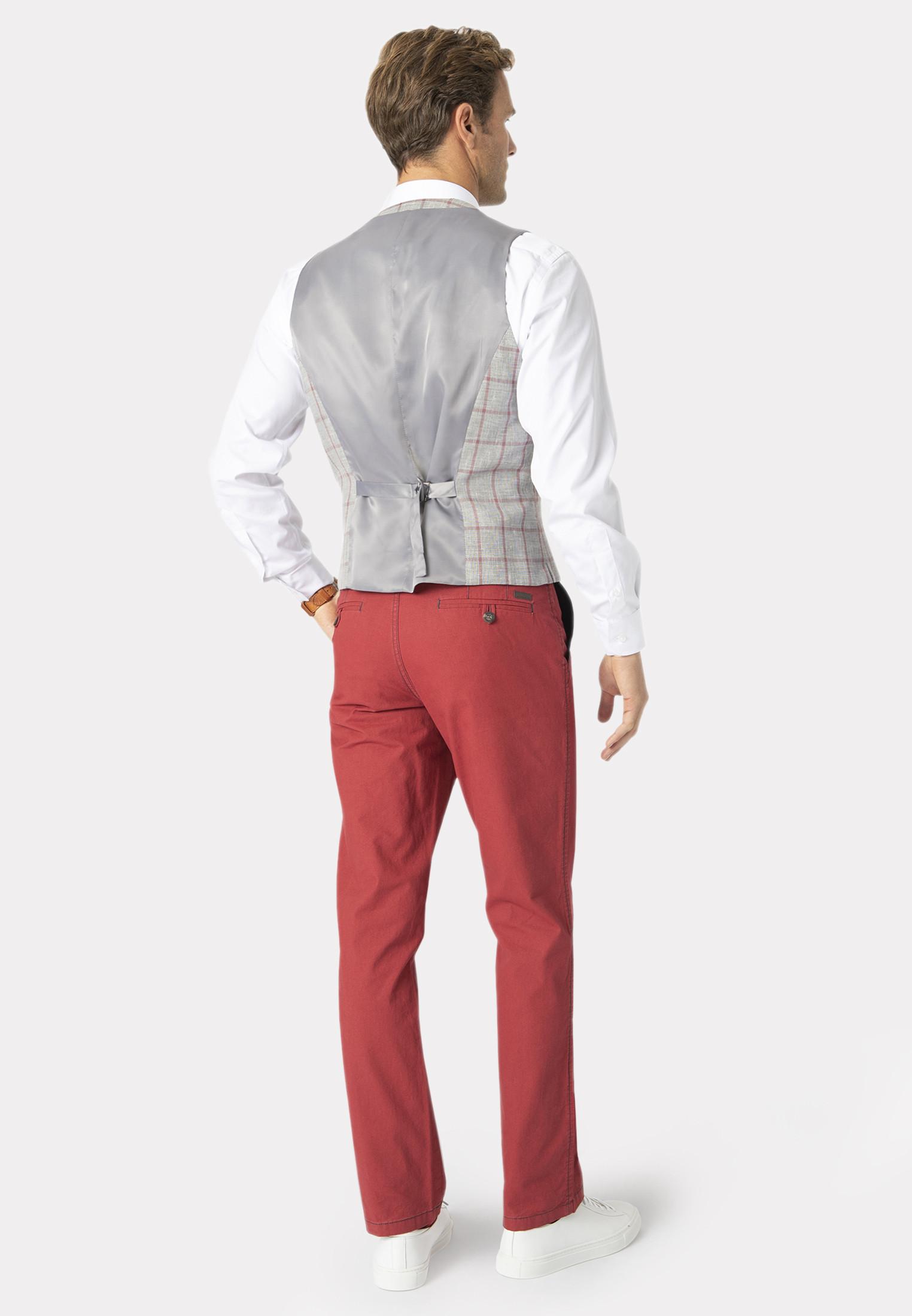 Kingston Lightweight Check Waistcoat