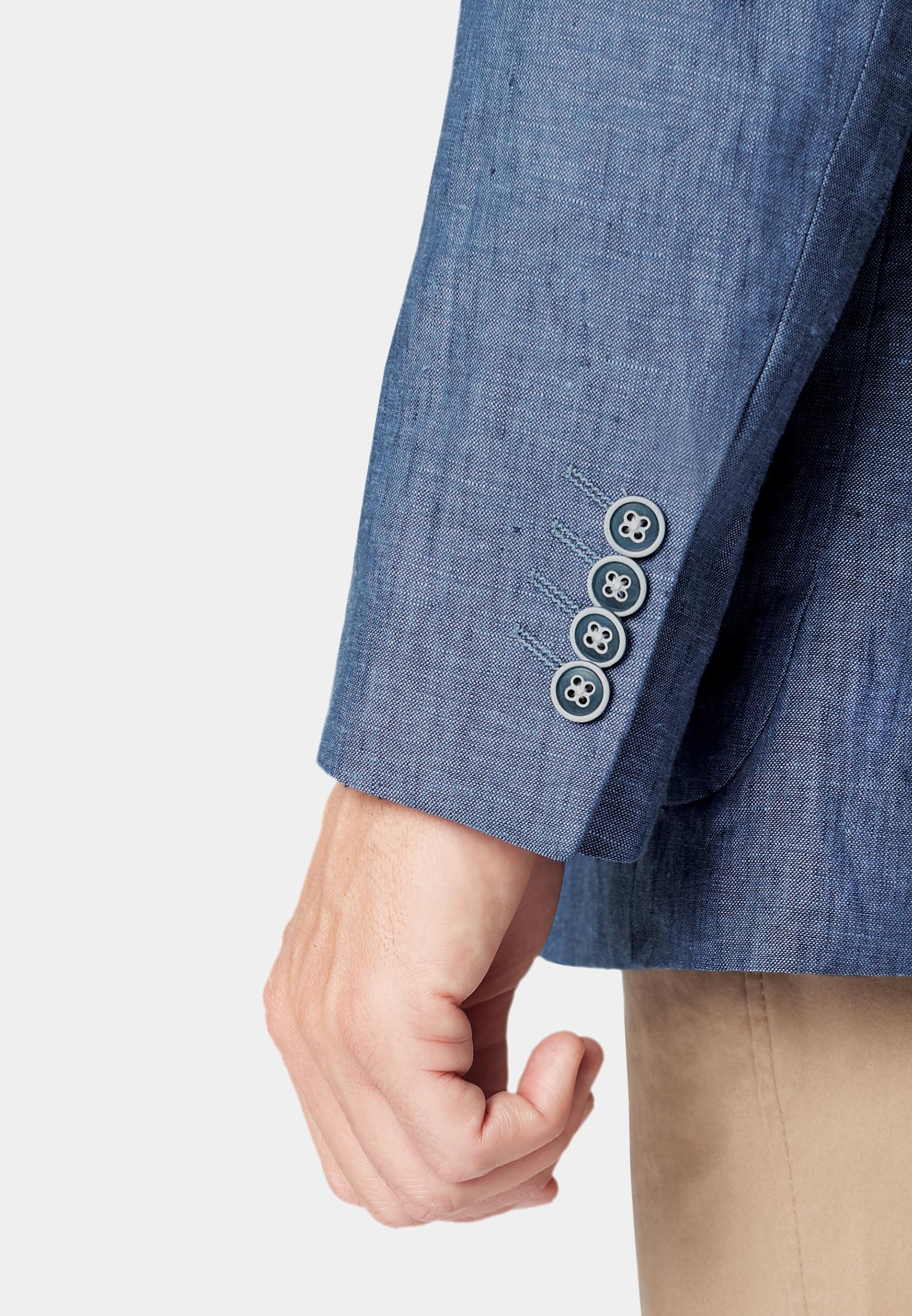 Leeds Blue Linen Jacket