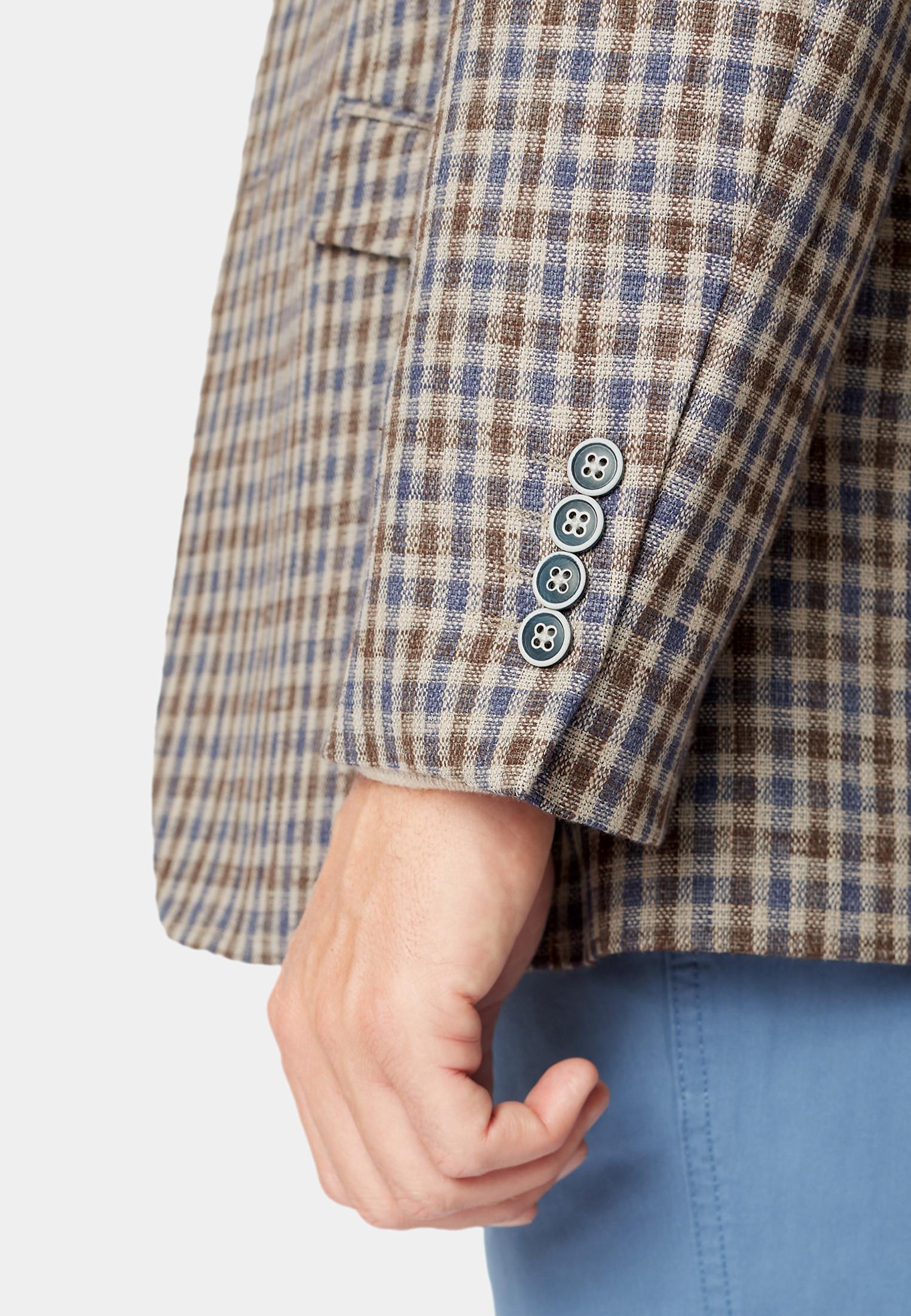 Leyburn Mocca Check Jacket