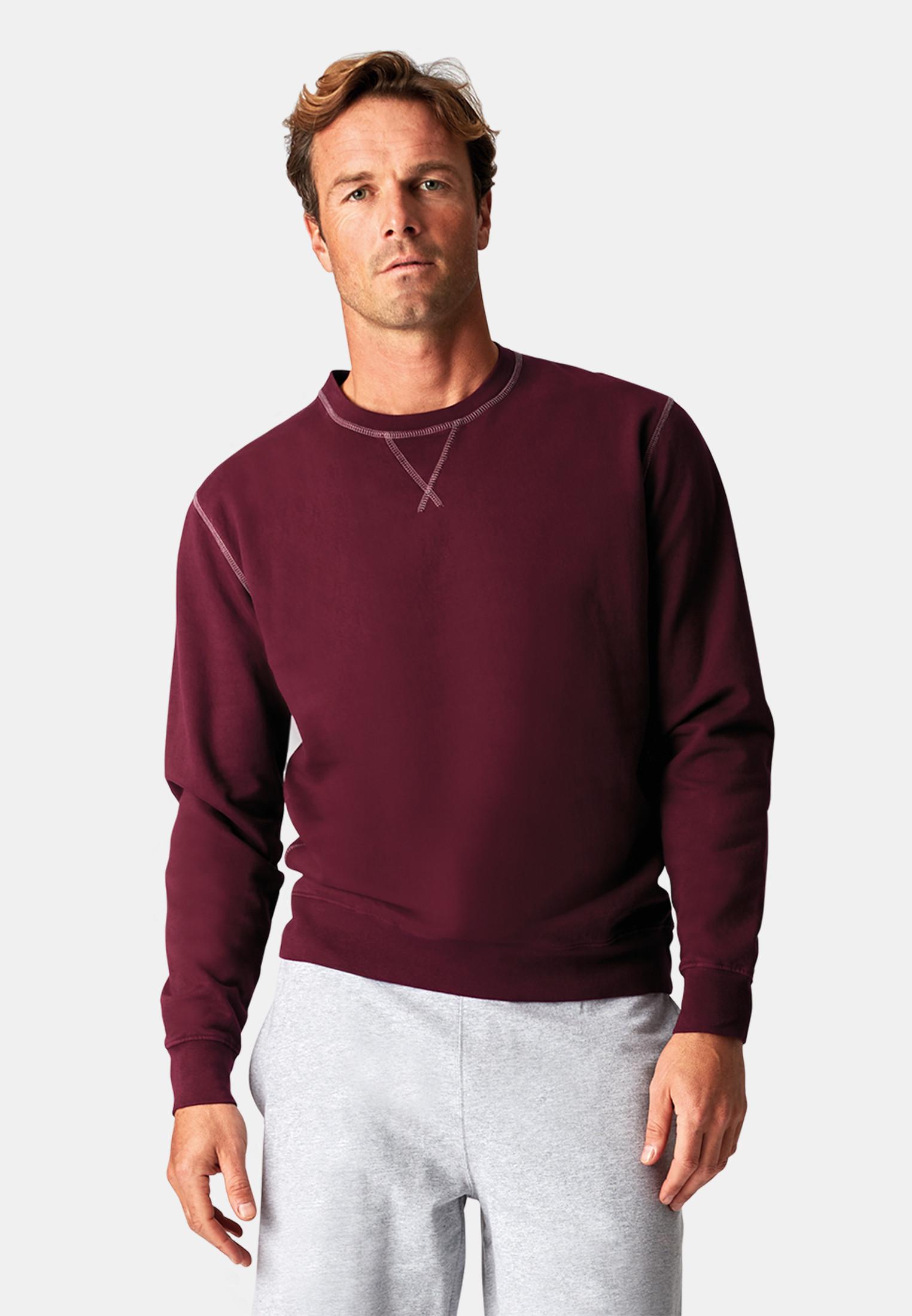 London Wine Garment Washed Crew Neck Sweatshirt