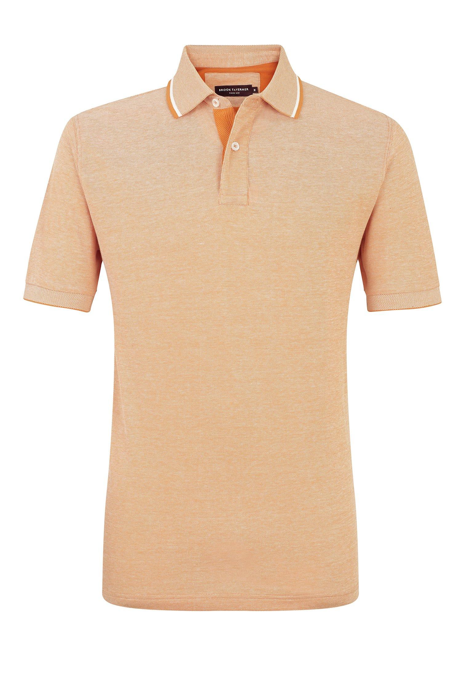 Apricot Menston 100% Cotton Pique Polo Shirt