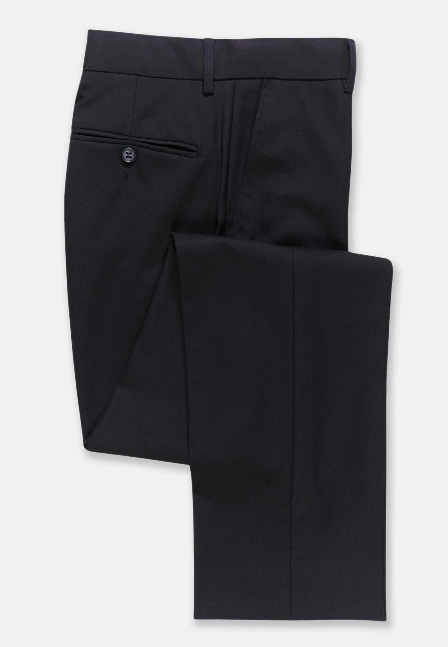 Monaco Black Tailored Fit Trouser