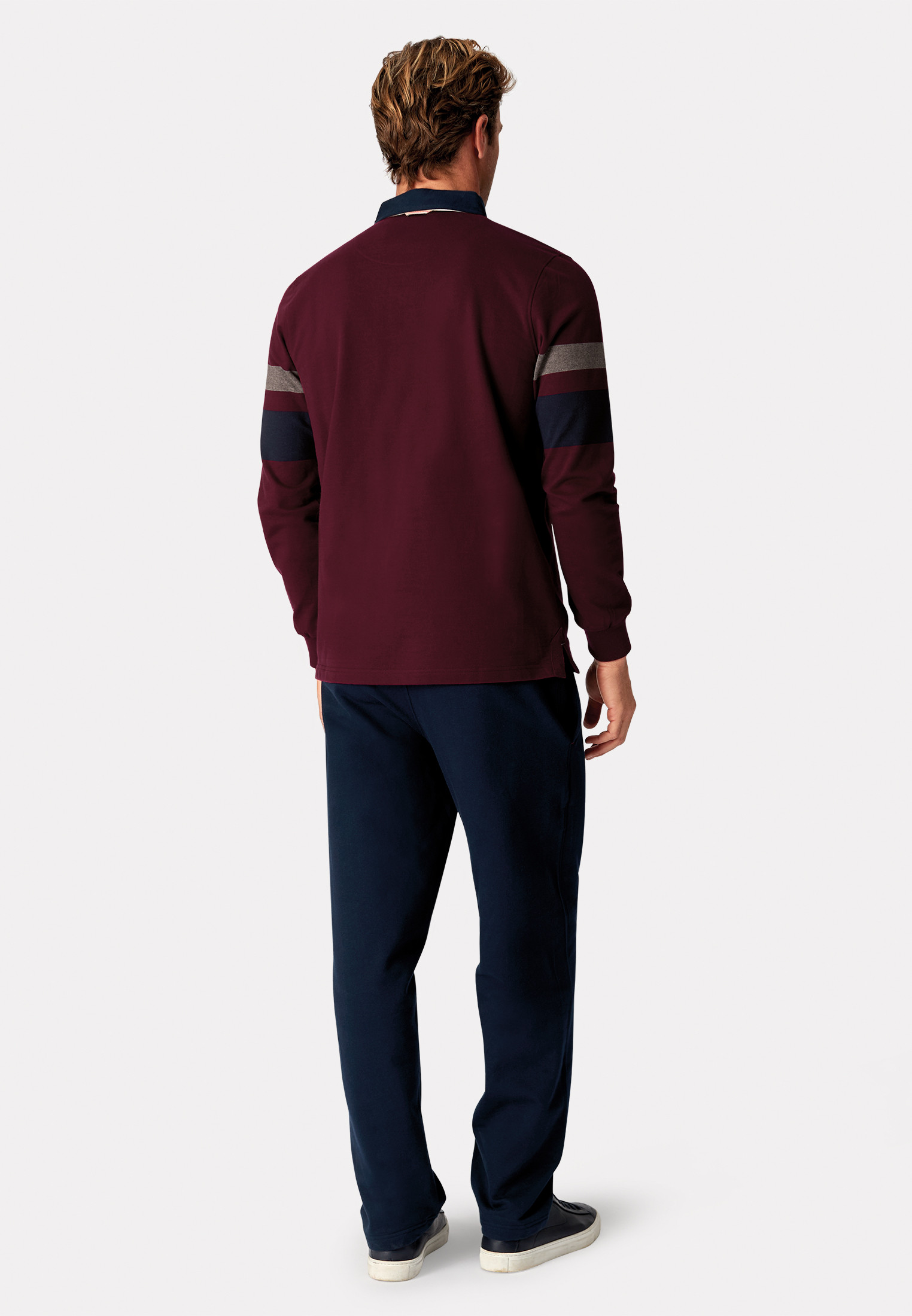 Northampton Wine Hoop Rugby Shirt