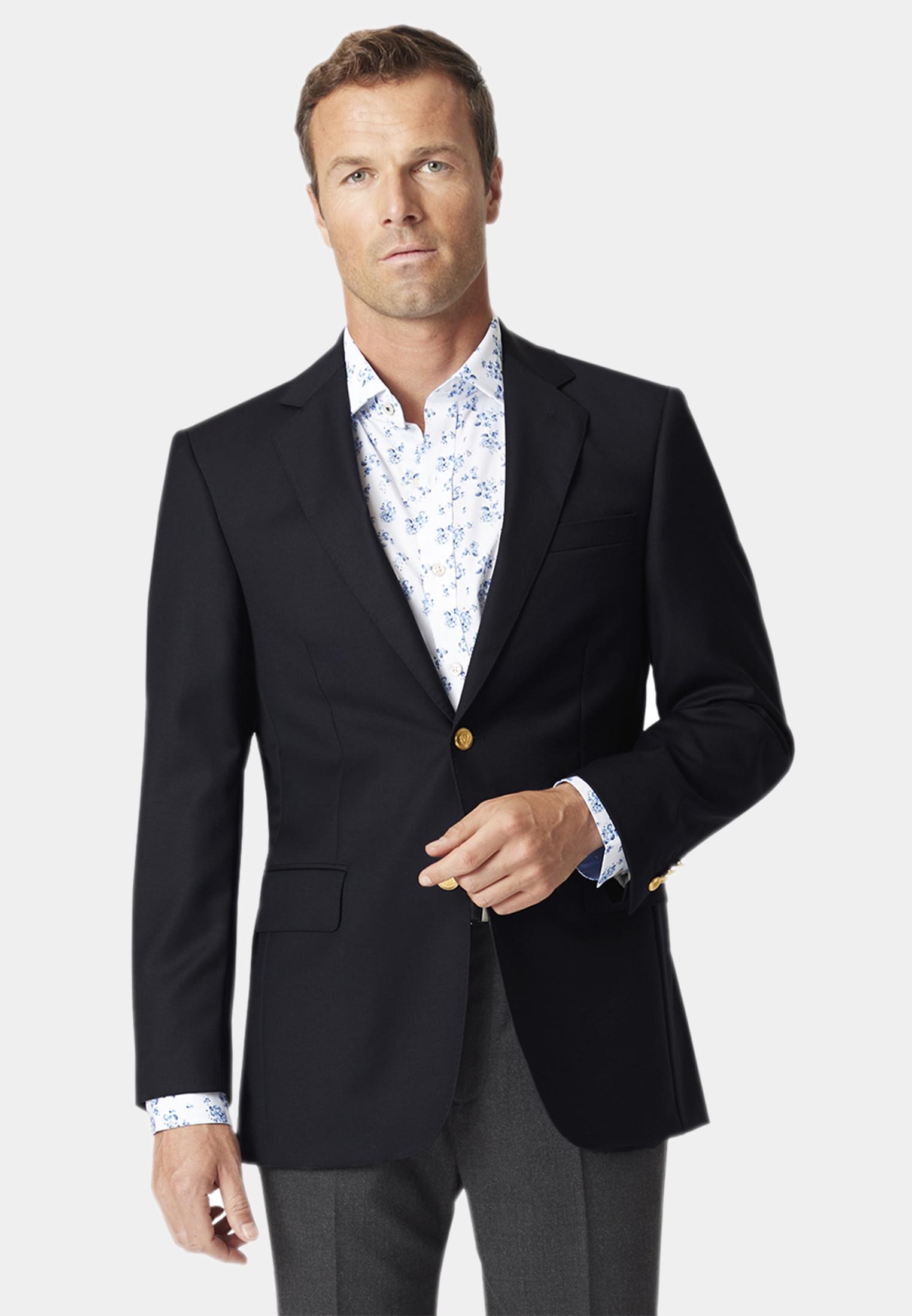 Otley Navy Wool  Blazer
