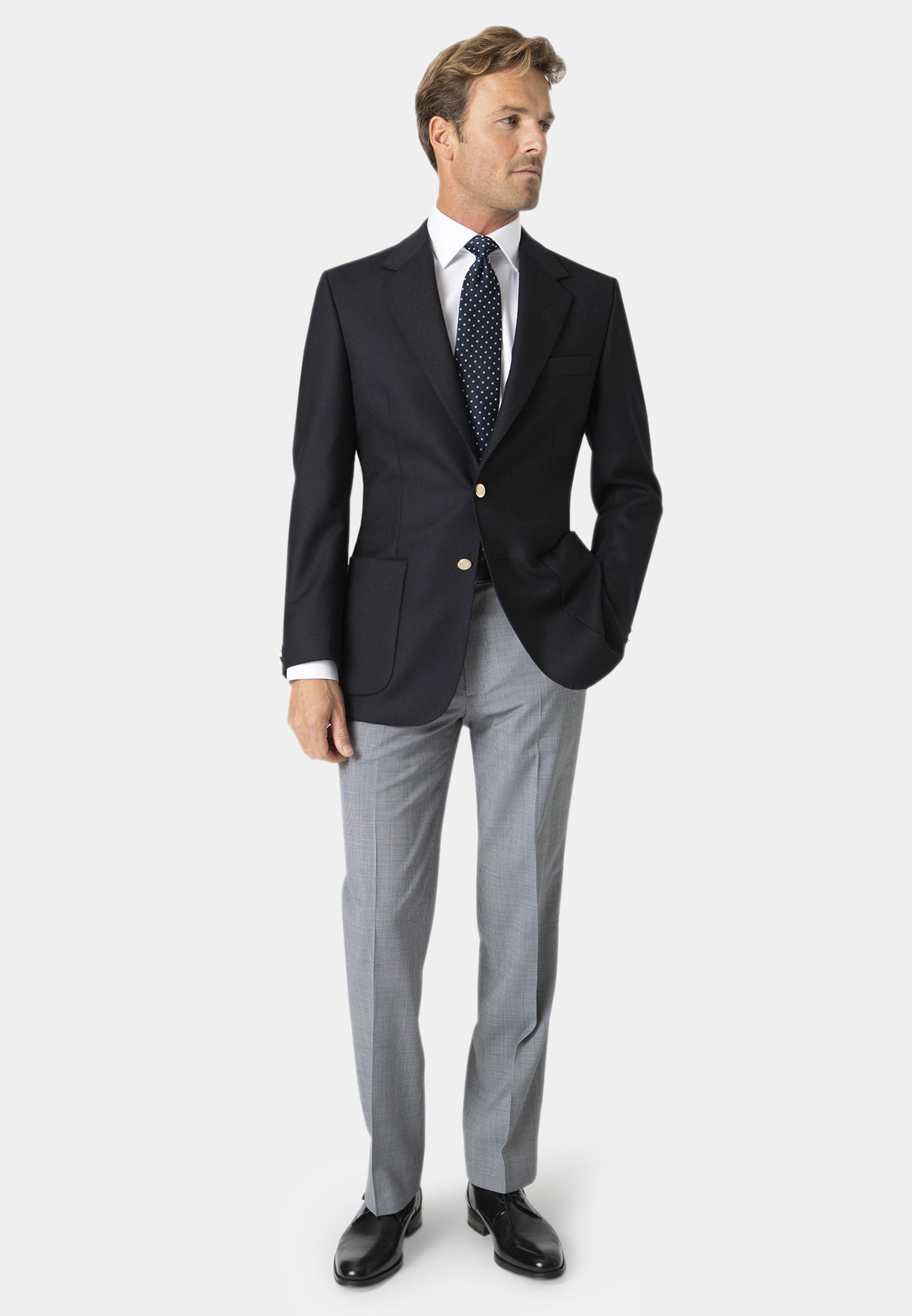 Oxford Navy Pure Wool Blazer