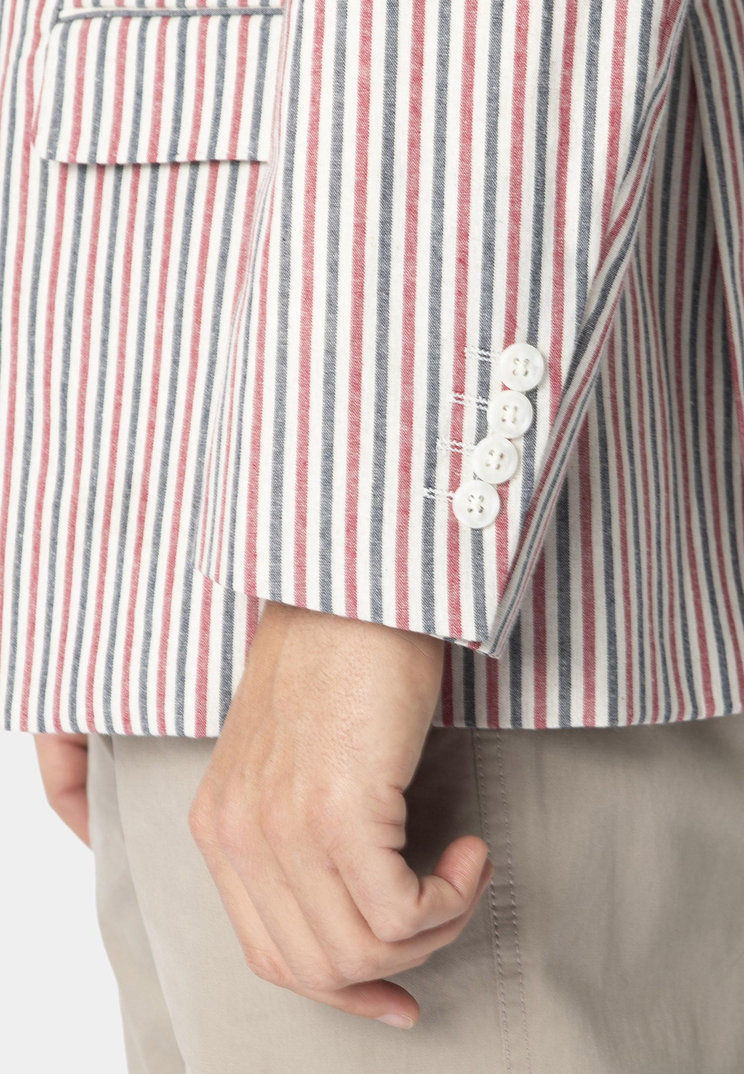 Snowshill Lightweight Cotton Stripe Jacket