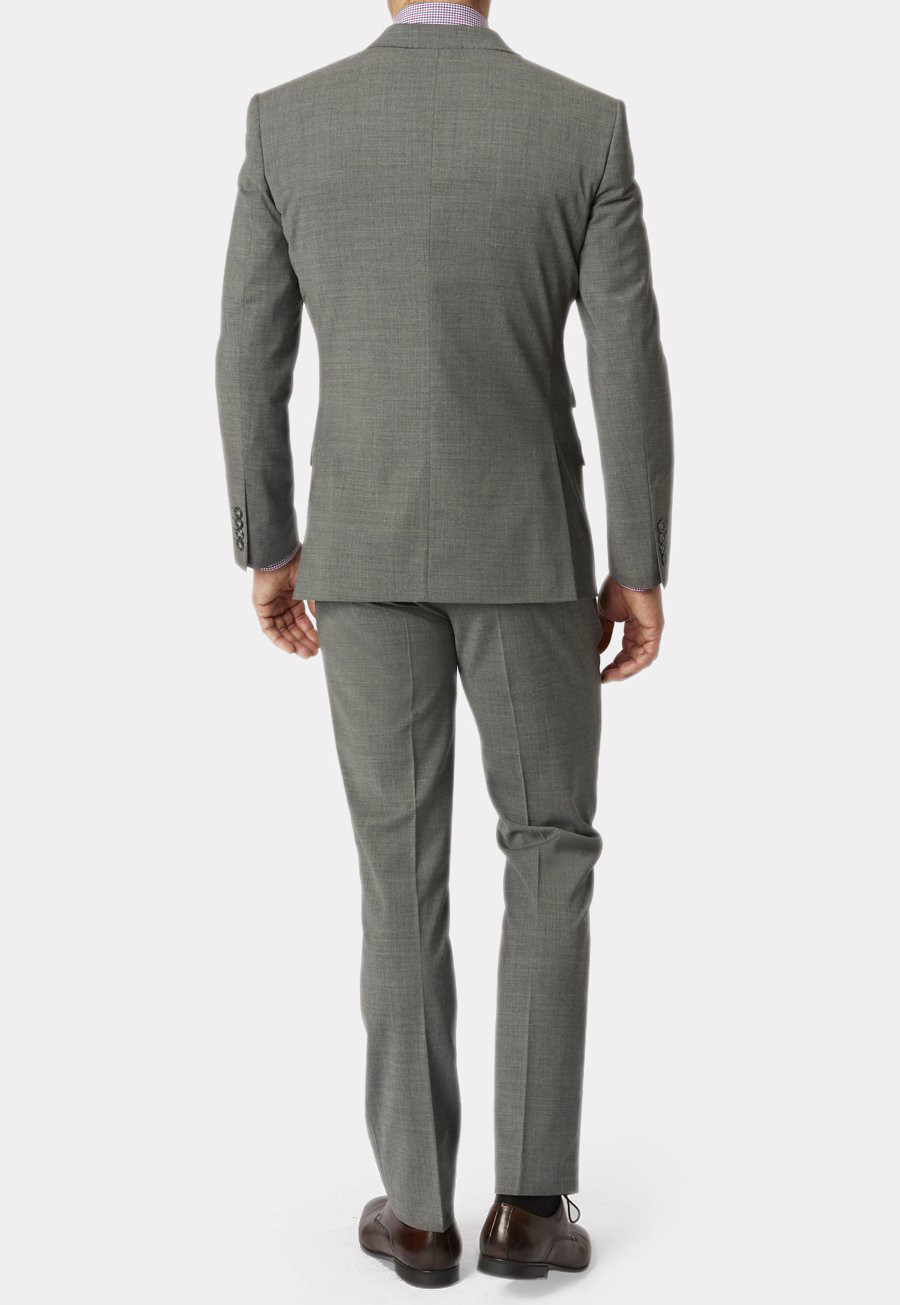 Cassino Grey Tailored Fit Washable Crease Resistant Suit