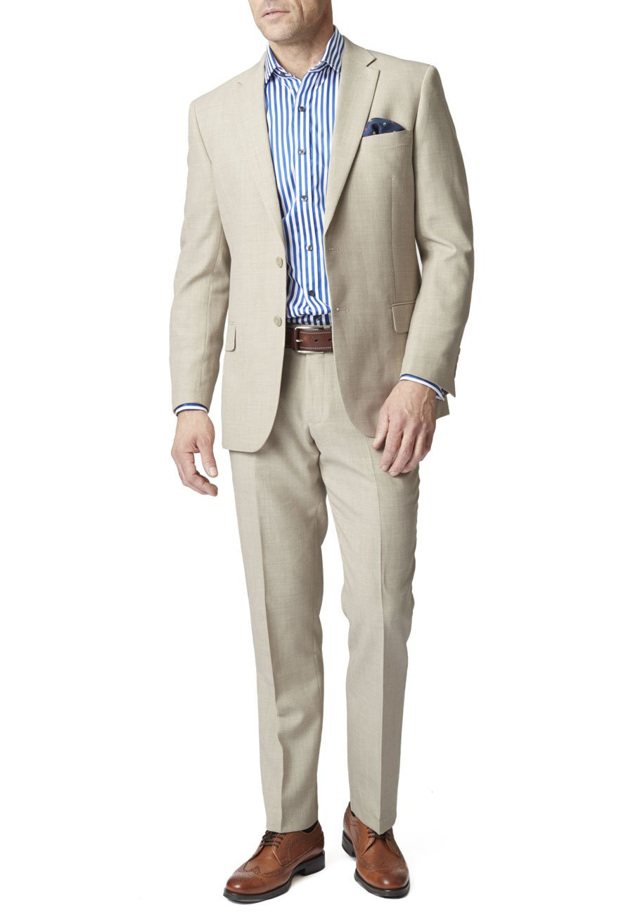 Stone Esher Washable Linen Blend Suit