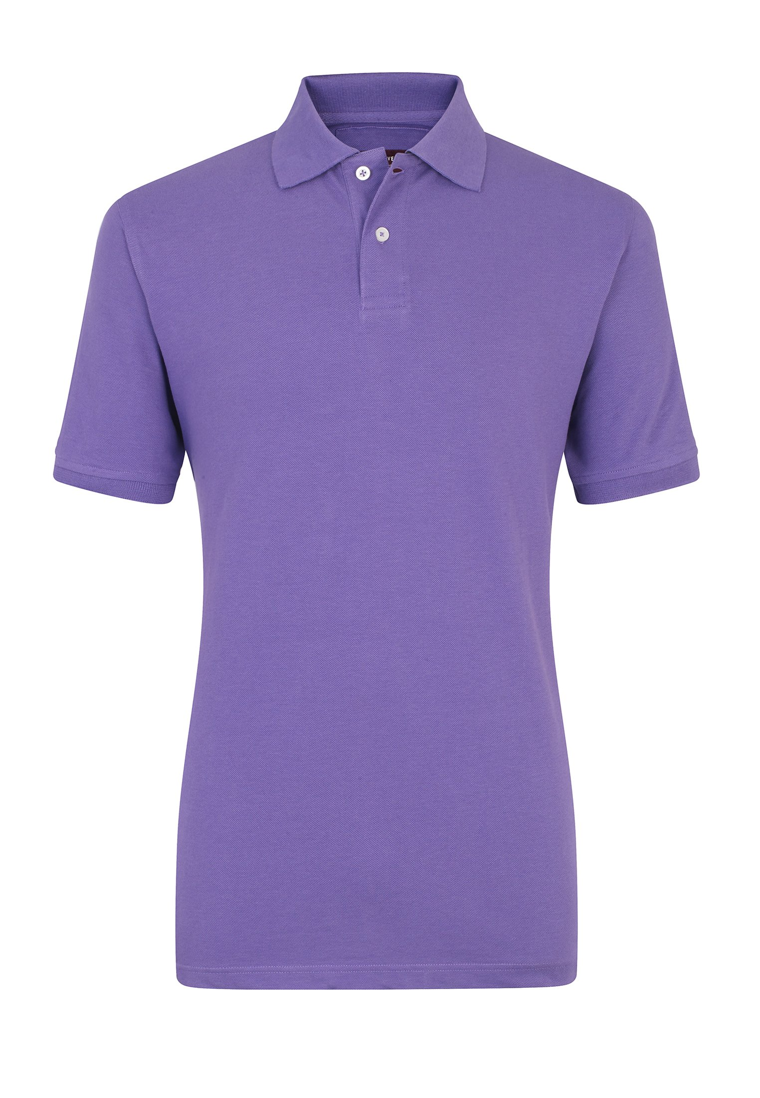 26b6d336fa7 Milford Heather 100% Pique Cotton Polo Shirt