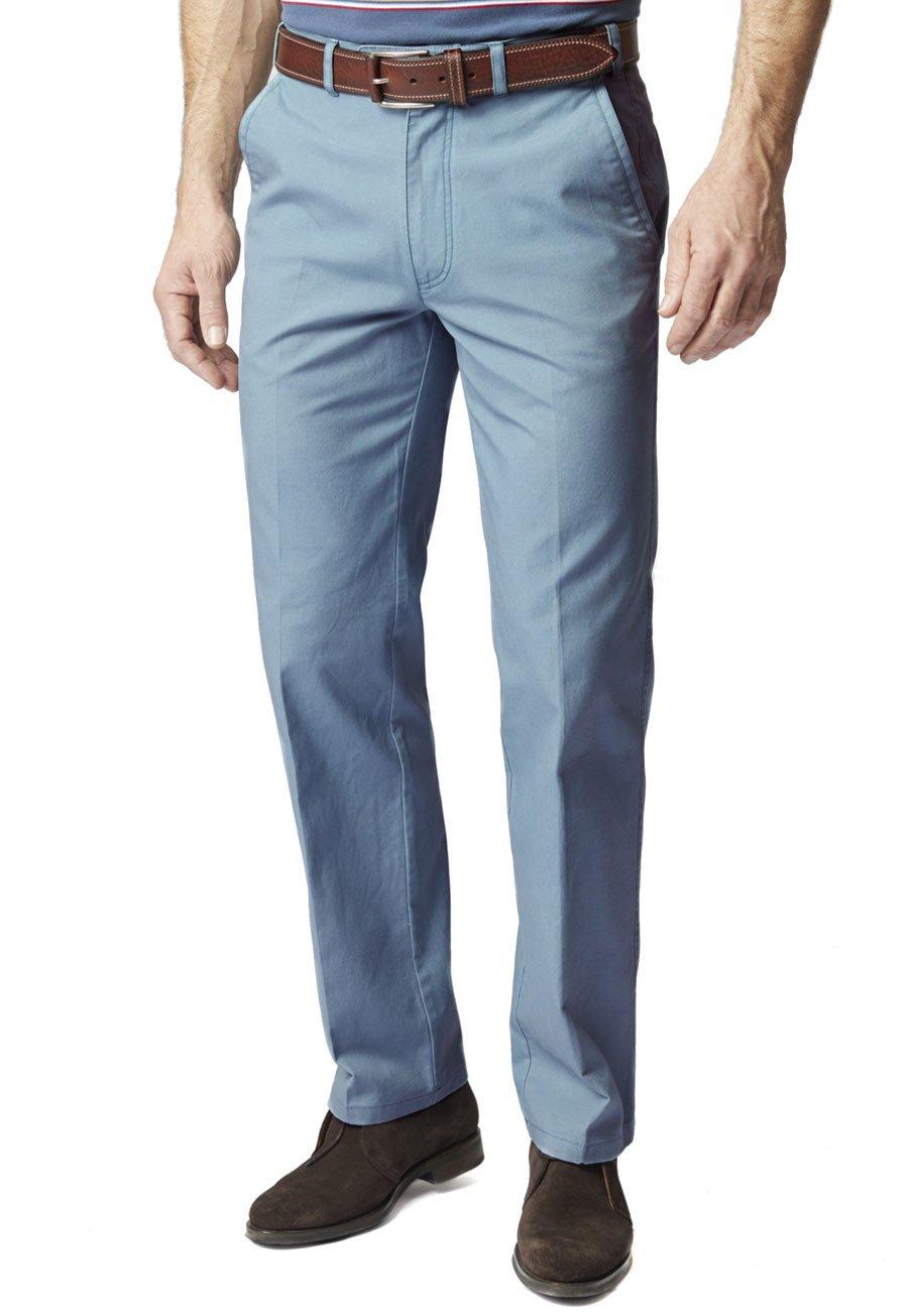 Indigo Thomas Cotton Linen Trousers