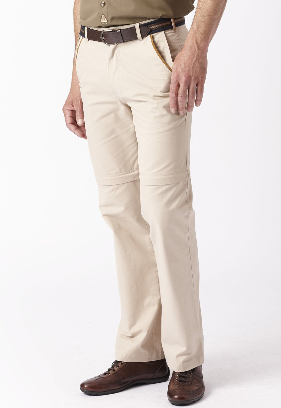 Image of Sand Tipnor Cotton Classic Fit Activity Trousers