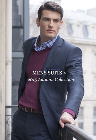 Mens Suits - 2015 Spring Collection
