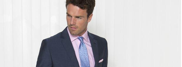 Kensington Tailored Fit Wool Mohair Suit