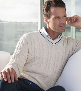 Oval Cricket Sweater