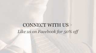 Connect with us - Like us on Facebook or Follow us on Twitter for 50% off